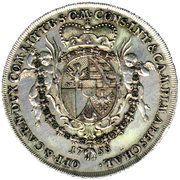 1 Konventionsthaler - Josef Wenzel I – reverse