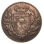 2 Kronen - Johann II – reverse