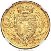 20 Kronen - Johann II (Pattern) – reverse