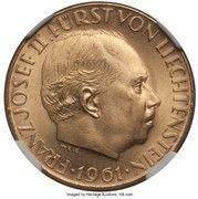 50 Franken - Franz Josef II (National Bank) – obverse