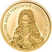 10 Franken - Anton Florian (300 Year Liechtenstein) – obverse