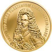 100 Franken - Anton Florian (300 Year Liechtenstein) – obverse