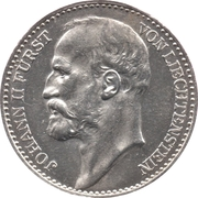 1 Krone - Johann II – obverse
