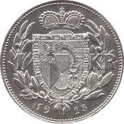 1 Krone - Johann II – reverse