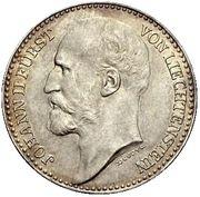 1 Krone - Johann II (Pattern) – obverse