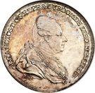 ½ Thaler - Franz Josef I – obverse