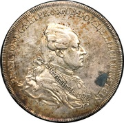 1 Konventionsthaler - Franz Josef I – obverse