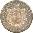 1 Vereinsthaler - Johann II – reverse