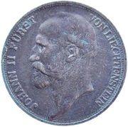 ½ Frank - Johann II – obverse