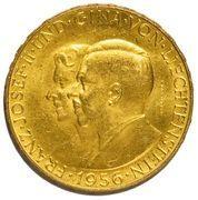 50 Franken - Franz Josef II (Franz Josef II and Princess Gina) – obverse