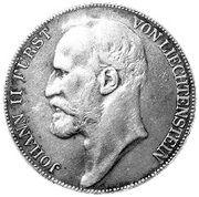 5 Kronen - Johann II – obverse