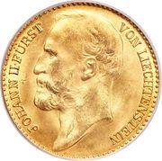 10 Kronen - Johann II – obverse
