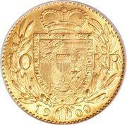 10 Kronen - Johann II – reverse