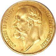 20 Kronen - Johann II – obverse