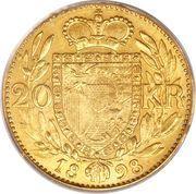 20 Kronen - Johann II – reverse