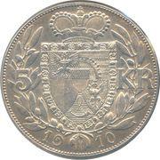5 Kronen - Johann II – reverse