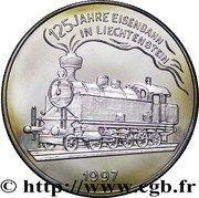5 Euro (Liechtenstein Railroad) – reverse