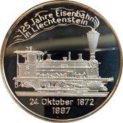 20 Euro (Liechtenstein Railroad) – reverse
