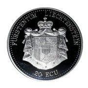 20 ECU (50 jahre UNO) – obverse