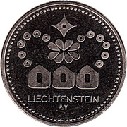 Token - Liechtenstein (Golden Eagle) – reverse