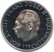 Token - Franz Josef II – obverse