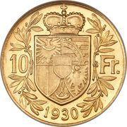 10 Franken - Franz I – reverse