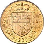 20 Franken - Franz I – reverse