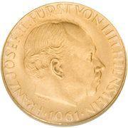 25 Franken - Franz Josef II (National Bank) – obverse
