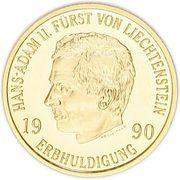 50 Franken - Hans-Adam II (Succession of Hans-Adam II) – obverse