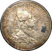 1 Konventionstaler - Franz Joseph I – obverse