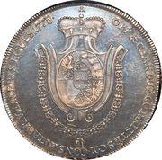 1 Konventionsthaler - Franz Josef I – reverse