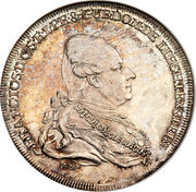 ½ Thaler - Franz Joseph I – obverse