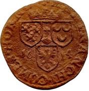 "12 Sols Brûlé ""½ Aidant or Gigot"" - Ferdinand of Bavaria – reverse"