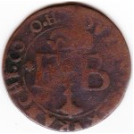 "1 Liard ""Aidant"" - Ferdinand of Bavaria – reverse"