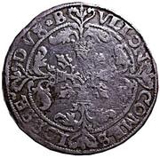 "5 Patards ""Sprenger"" - Robert of Berghes – reverse"