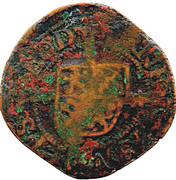 """12 Sols Brûlé """"½ Aidant or Gigot""""- Ernest of Bavaria – obverse"""