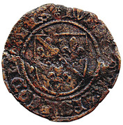 1 Brûlé - Louis of Bourbon – obverse