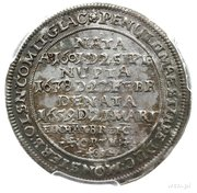 1/8 Thaler - Georg III & Christian (Death of Sophie Katharina) – reverse