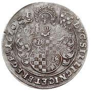 1 Thaler - Johann Christian & Georg Rudolf – reverse