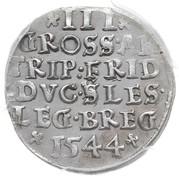 3 Groshen - Friedrich II – reverse
