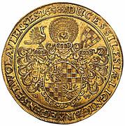 10 Ducat - Georg III, Ludwig IV & Christian (Brieg) – reverse