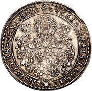 ¼ Thaler - Georg III, Ludwig IV & Christian – reverse