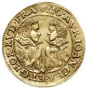 1 Ducat - Johann Christian & Georg Rudolf – obverse
