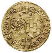 1 Ducat - Johann Christian & Georg Rudolf – reverse