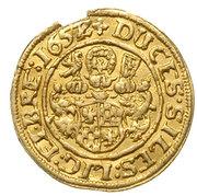 ½ Ducat - Georg III, Ludwig IV & Christian – reverse