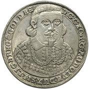 ⅛ Thaler - Georg III, Ludwig IV & Christian (Death of Georg Rudolf) – obverse