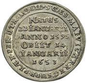⅛ Thaler - Georg III, Ludwig IV & Christian (Death of Georg Rudolf) – reverse