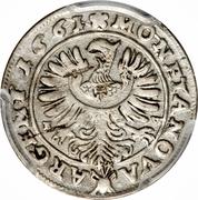3 Kreuzer - Georg III – reverse