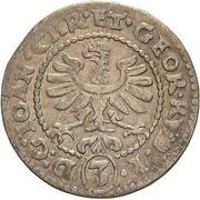 3 Kreuzer - Johann Christian & Georg Rudolf – obverse