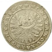 15 Kreuzer - Ludwig IV – reverse